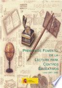 Premios de fomento de la lectura para centros educativos curso 2001-2002