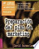 Preparación del plan de marketing