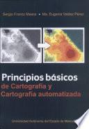 Principios básicos de cartografía y cartografía automatizada