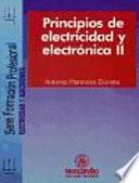 Principios de Electricidad y Electrónica II