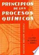 Principios de los procesos químicos .balances de materia y energia