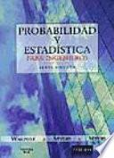 Probabilidad y estadística para ingenieros
