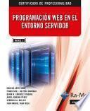 Programación Web en el Entorno Servidor. (MF0492_3)