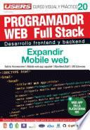 PROGRAMACION WEB Full Stack 20 - Expandir Mobile web