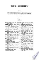 Prontuario homeopatico ó tabla alfabética de las indicaciones clinicas mas importantes para que ... puedan los prácticos elegir con acierto el medicamento conveniente