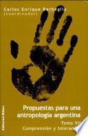 Propuestas para una antropología argentina