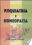 Psiquiatria Y Homeopatia