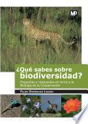 ¿Qué sabes sobre biodiversidad?