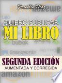 Quiero Publicar Mi Libro