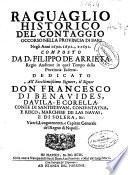 Raguaglio historico del contaggio occorso nella provincia di Bari negli anni 1690, 1691 e 1692
