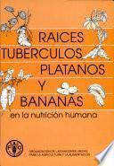 Raices, tuberculos, platanos y bananas en la nutricion humana