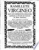Ramillete virgineo con diferentes sermones predicados en diversas invocaciones de María Santísima