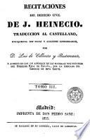 Recitaciones del derecho civil, 3