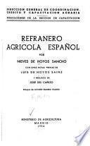 Refranero agrícola español