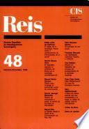 REIS - Octubre/Diciembre 1989
