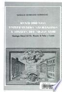Renacimiento universitario salmantino a finales del siglo XVIII. Ideología liberal del Dr. Ramón de Salas y Cortés