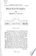 Repertorio de medicina y cirugía