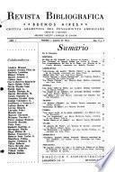 Revista bibliográfica