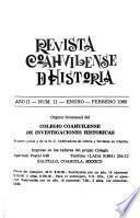 Revista coahuilense de historia