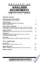 Revista de Análisis Económico