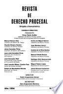Revista de derecho procesal