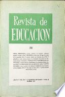 Revista de educación nº 58