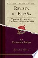 Revista de España, Vol. 149