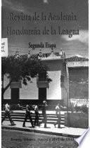 Revista de la Academia Hondureña de la Lengua