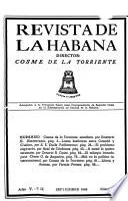 Revista de la Habana