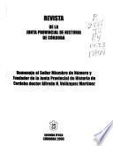 Revista de la Junta Provincial de Historia de Córdoba