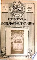 Revista de la Sociedad Geográfica de Cuba ...