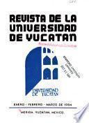 Revista de la Universidad de Yucatán
