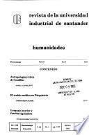 Revista de la Universidad Industrial de Santander