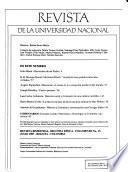 Revista de la Universidad Nacional