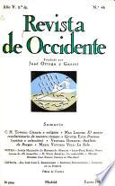 Revista de occidente