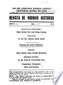 Revista del Archivo Histórico