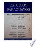 Revista Estudios Paraguayos 1990 a 1995 - N°1 y 2 - Vol. XVIII