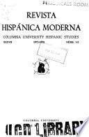 Revista hispánica moderna