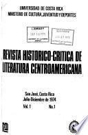 Revista historico-critica de literatura centro-americana