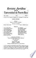 Revista juridica de la universidad de puerto rico