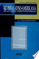Revista latino-americana de estudos constitucionais Vol.3