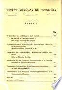 Revista mexicana de psicología