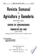 Revista semanal de agricultura y ganaderia