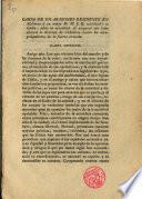 Carta de un aragonés residente en Mallorca a su amigo D.M.J.Q. establecido en Cádiz, sobre la necesidad de asegurar con leyes eficaces la libertad de ciudadano contra los atropellamientos de la fuerza armada