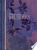 RVR 1960 Biblia de Estudio para Mujeres, Tapa Dura Con índice
