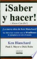 Saber y Hacer-Ken Blanchard