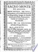 Sacro Monte de Aragón
