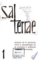 Sal Terrae. Parte Teórica