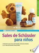 Sales de Schüssler para niños