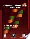 Salto de Agua estado de Chiapas. Cuaderno estadístico municipal 1997